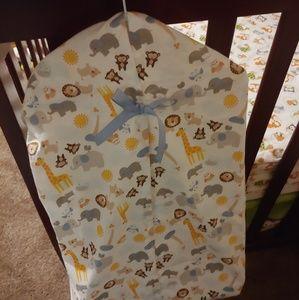 Baby animal diaper stacker